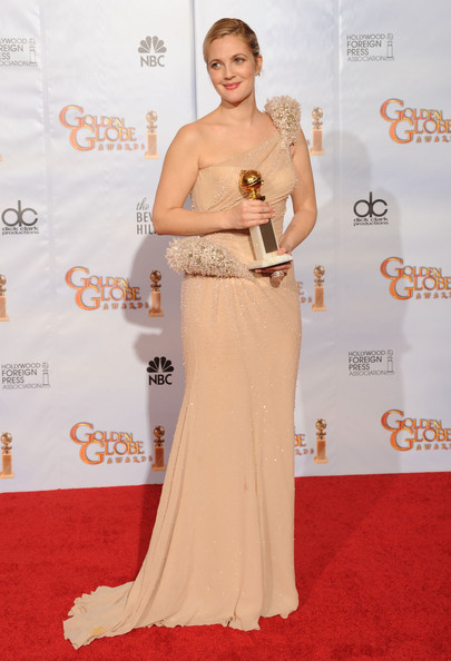 Drew Barrymore Golden Globes 2010