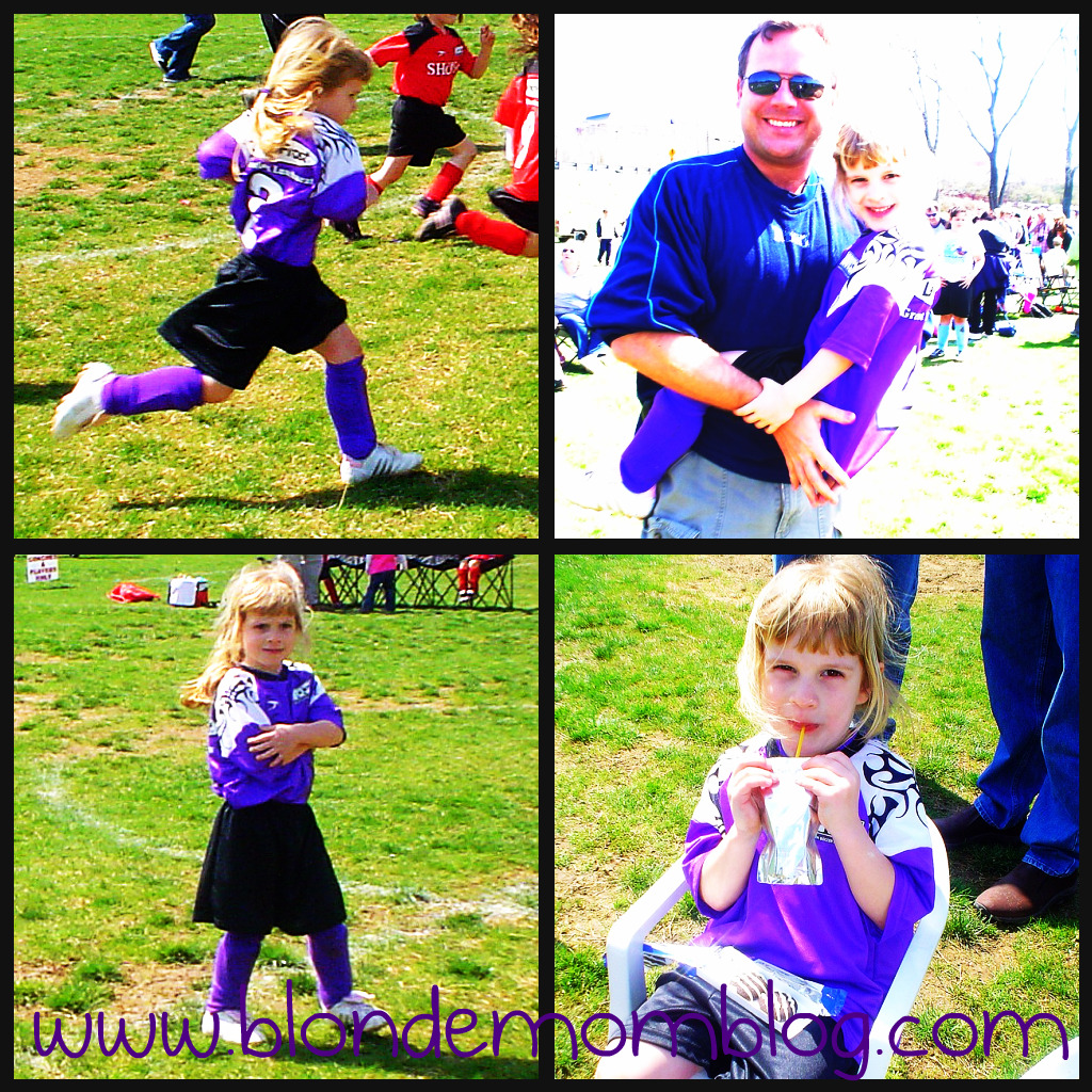 First Soccer Game