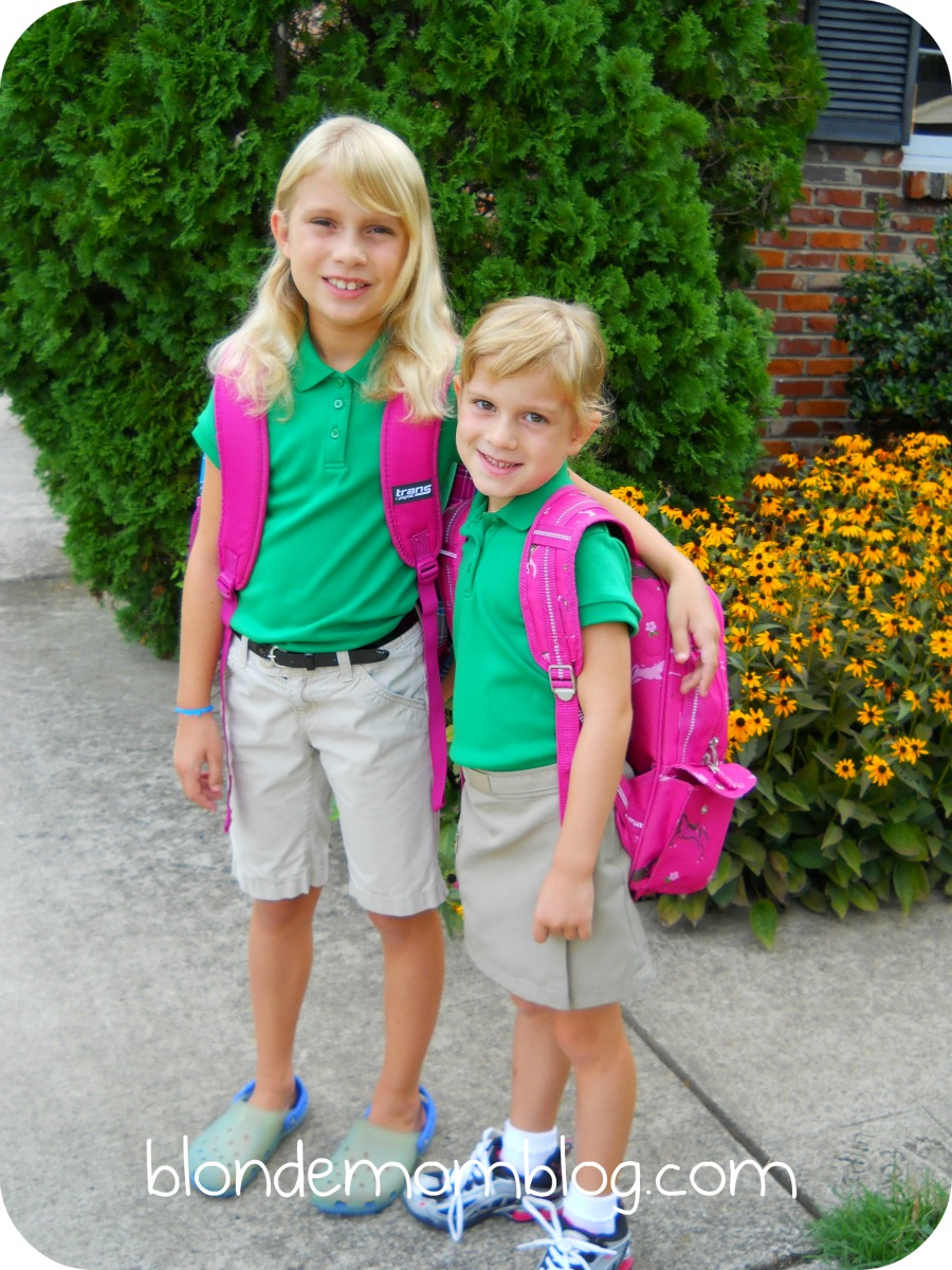 First day of elementary school