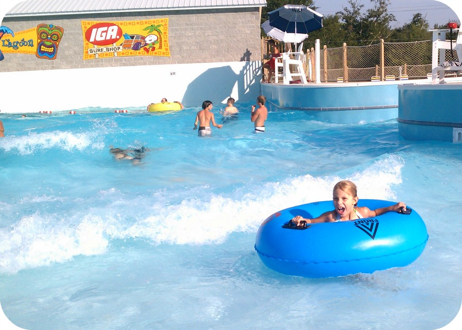 Wave Pool Beech Bend