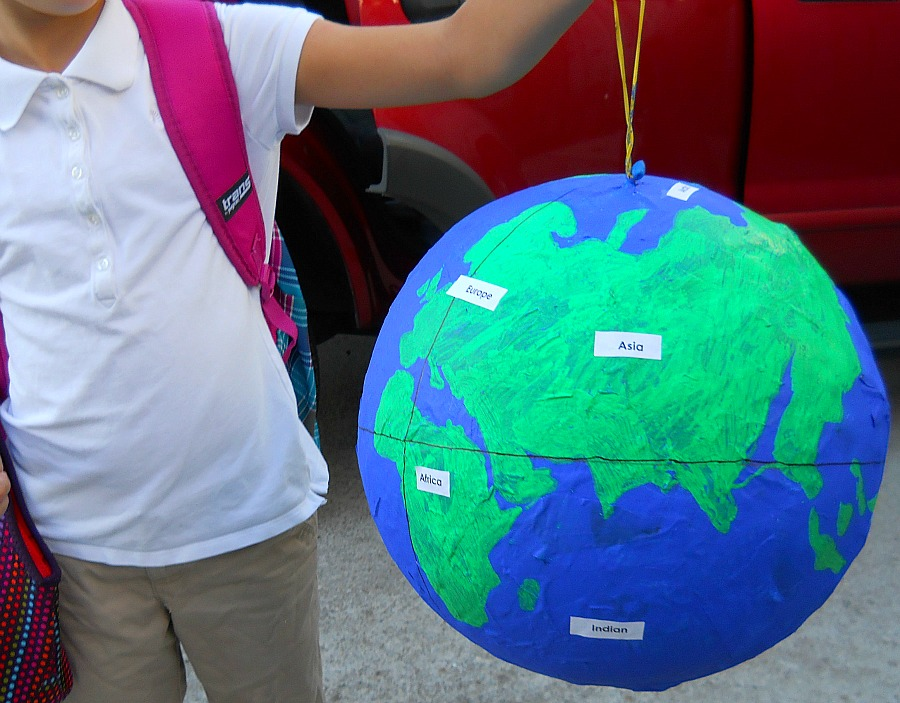 As the world turns and the wine pours blonde mom blog for Best way to paper mache a balloon
