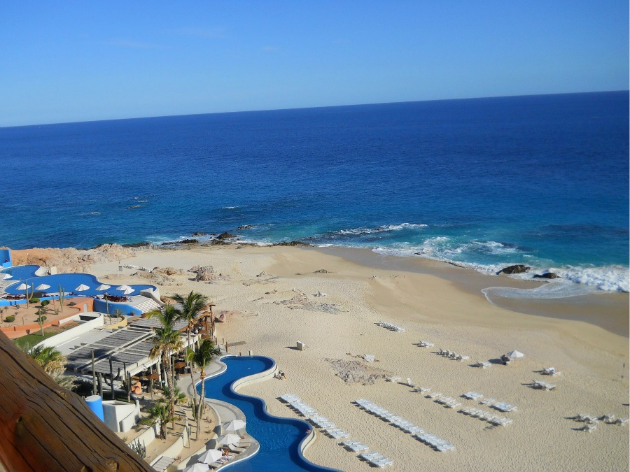 Westin Los Cabos balcony view of ocean