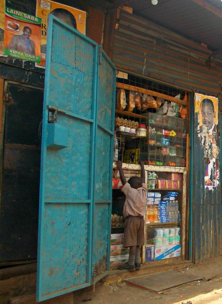 Boy at Store Kibera