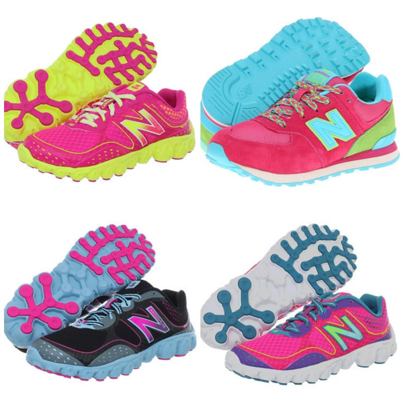 New Balance Colorful Spring Shoes