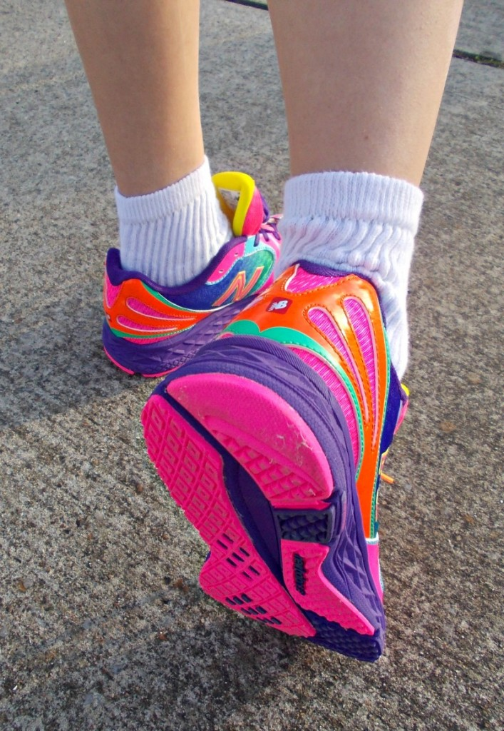 New Balance Rainbow Girls Athletic Shoes
