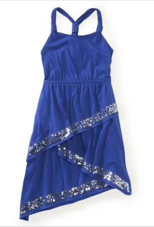 Tiered Sparkle Dress PS Aeropostale
