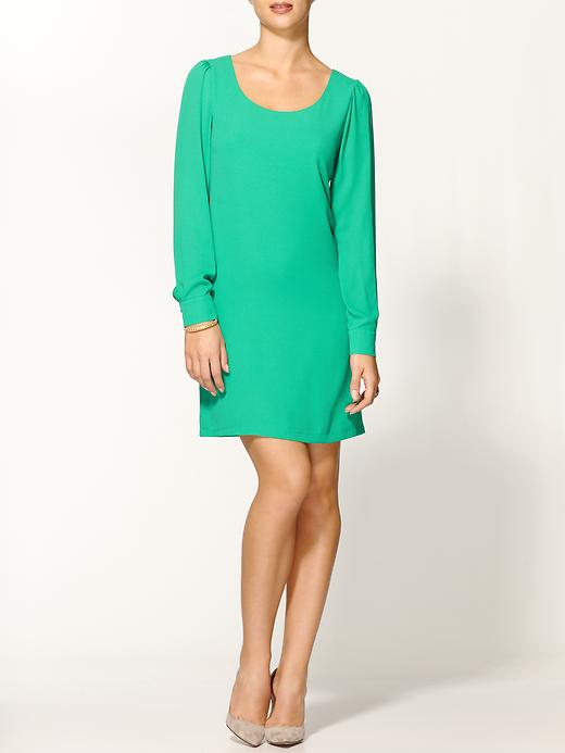 A Line Dress Piper Lime