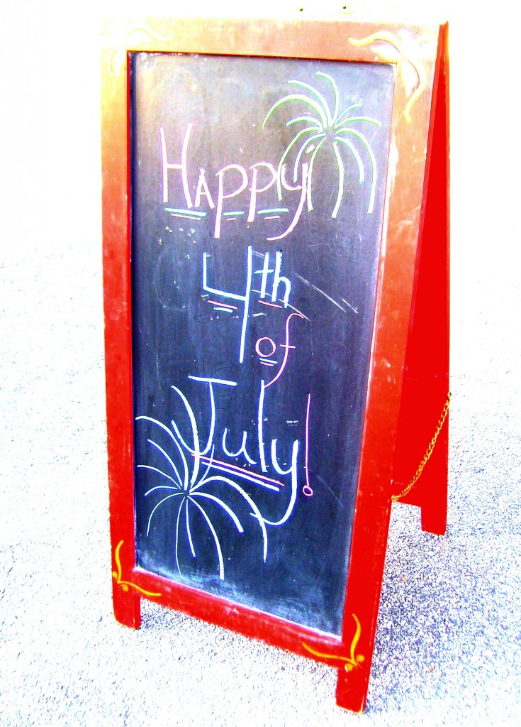 Happy 4th of July Sign