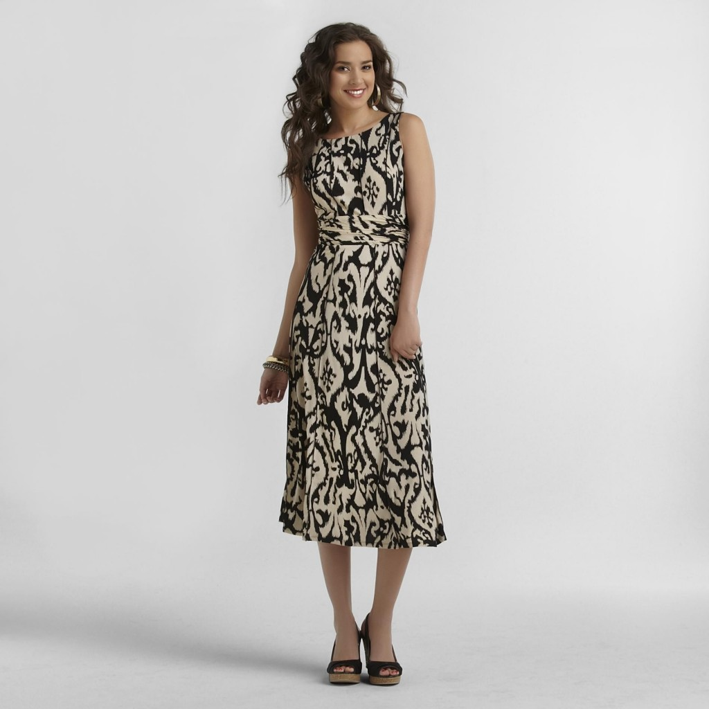 Ikat Print Trend Dress Sears