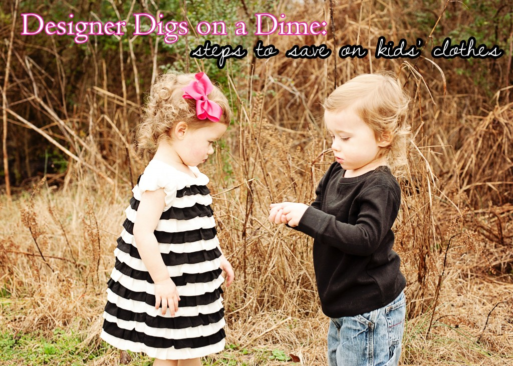 Designer Kids Clothes on a Budget Tips