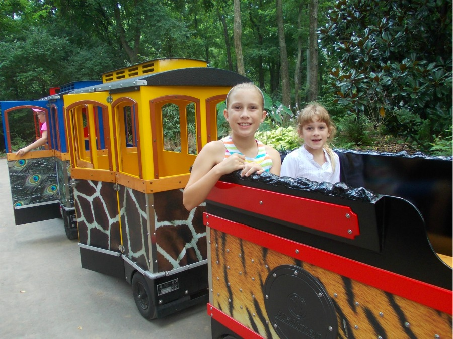 Nashville Zoo Train
