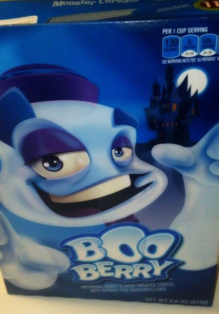 Boo Berry Cereal