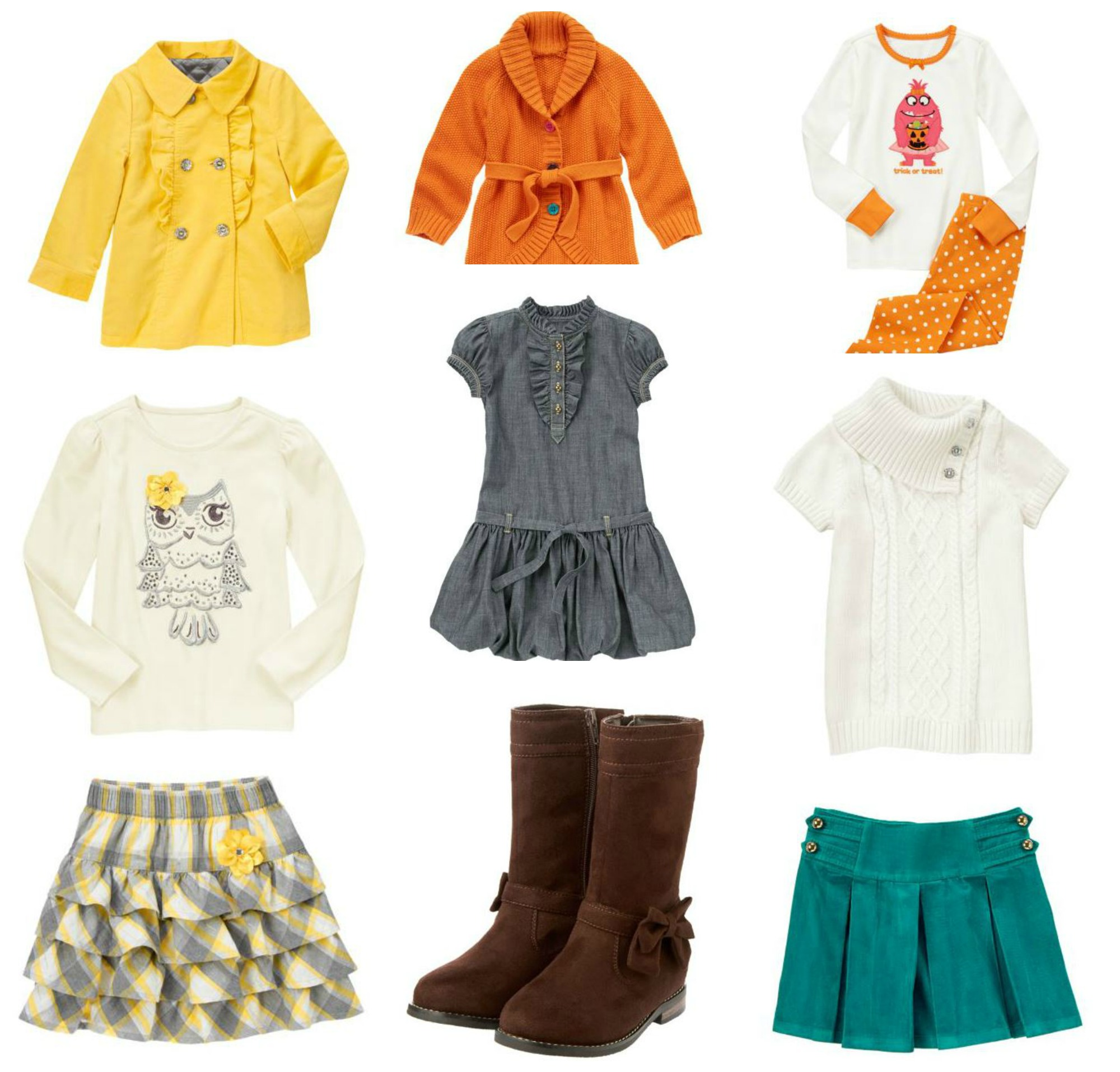 Cute Fall Dresses For Girls chambray bubble dress and