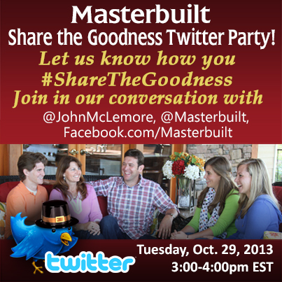 Masterbuilt Turkey Day Twitter party