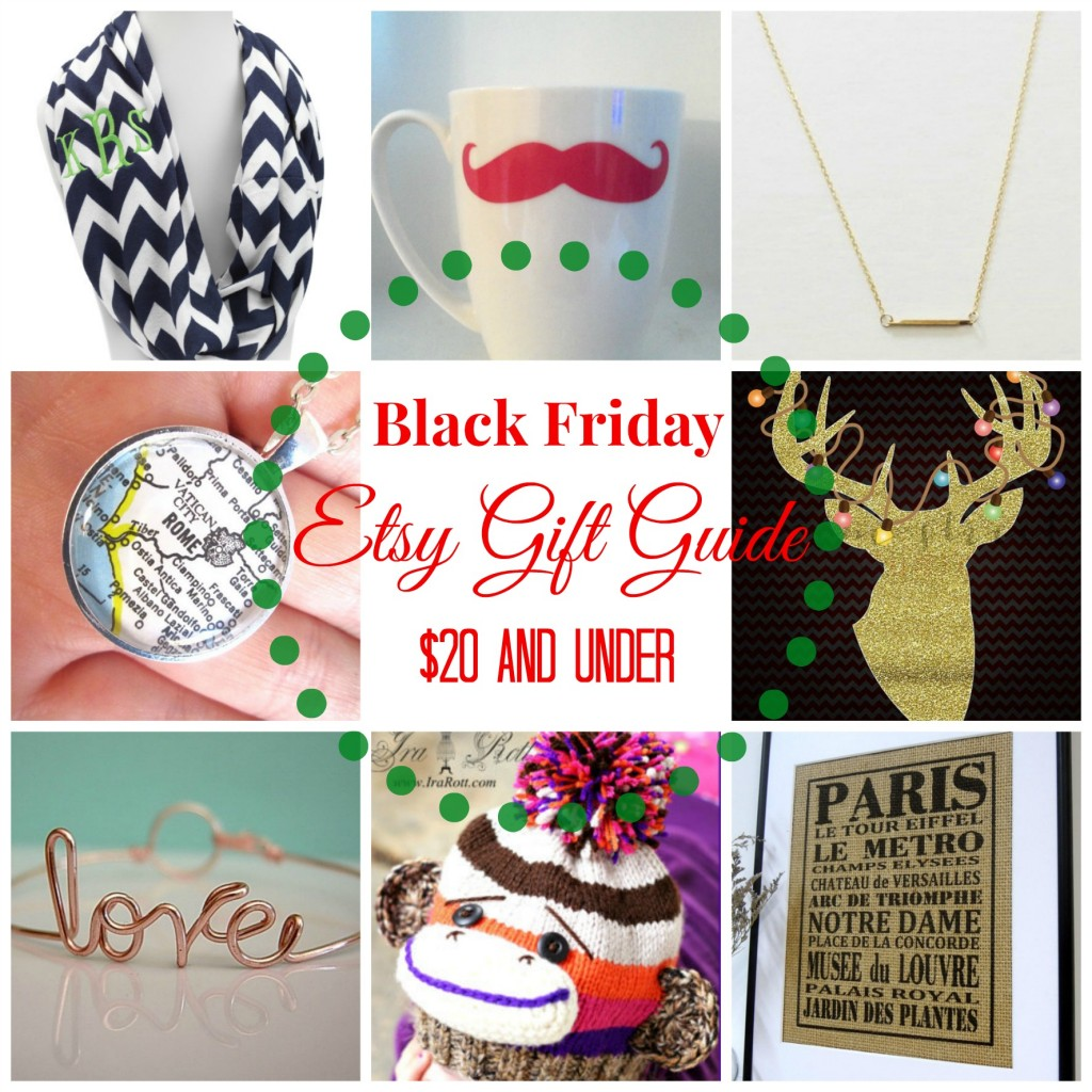 Etsy Gift Guide Graphic