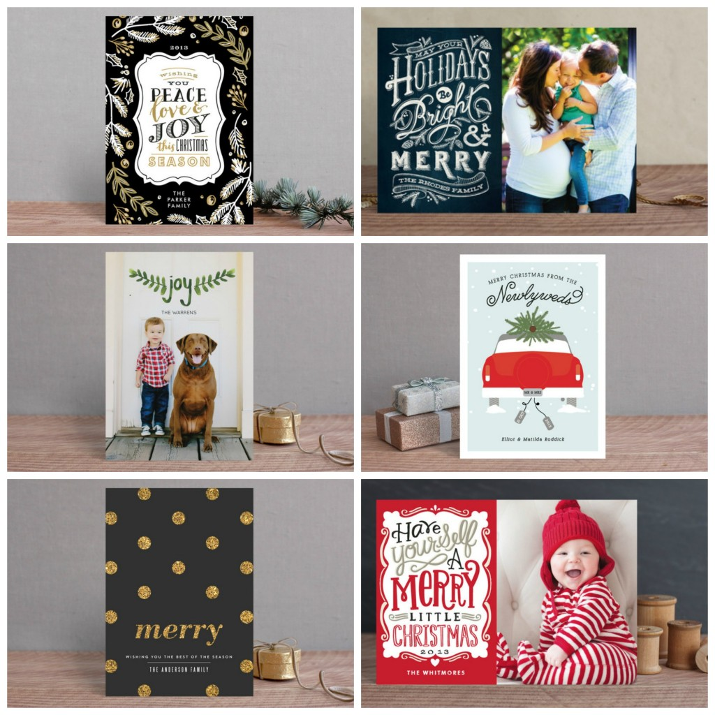 Minted Holiday Card Faves