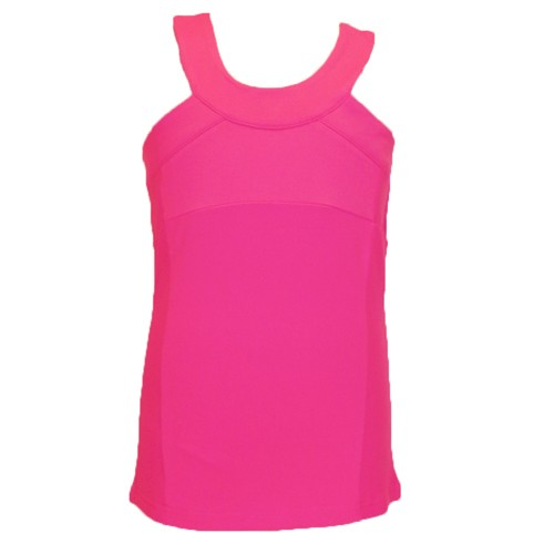 pink cross back limeapple tank