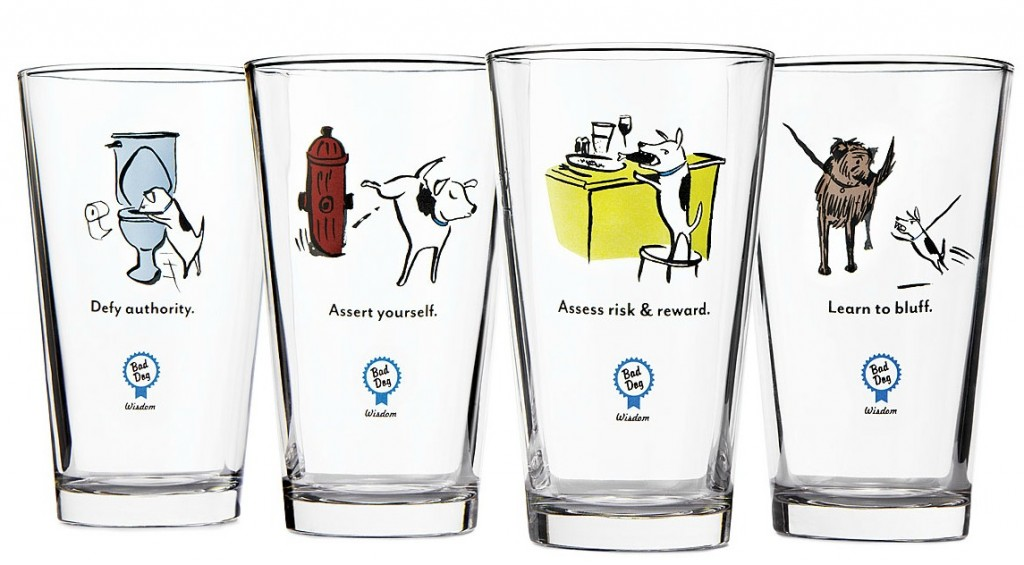 Bad Dog Beer Tumblers