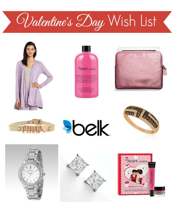 Belk Valentines Day Wish List