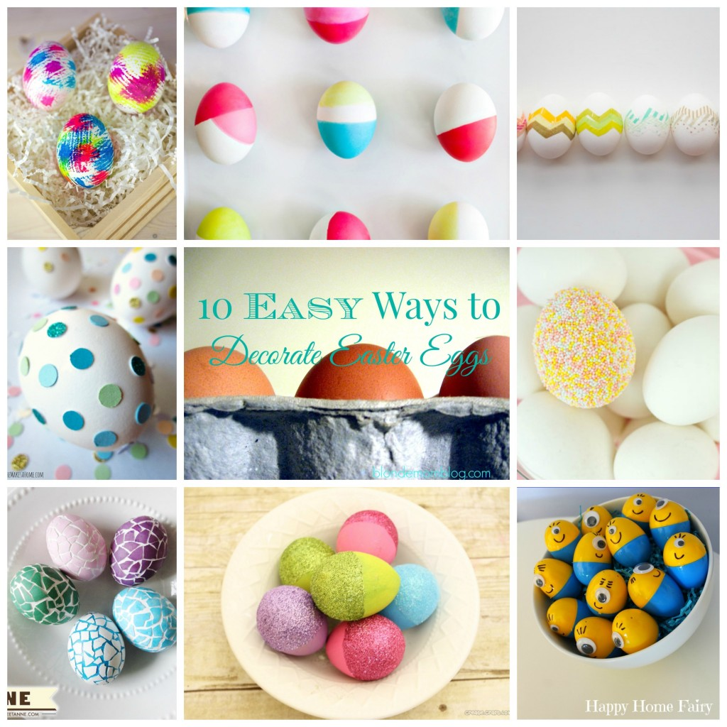 Easy DIY Easter Egg Craft