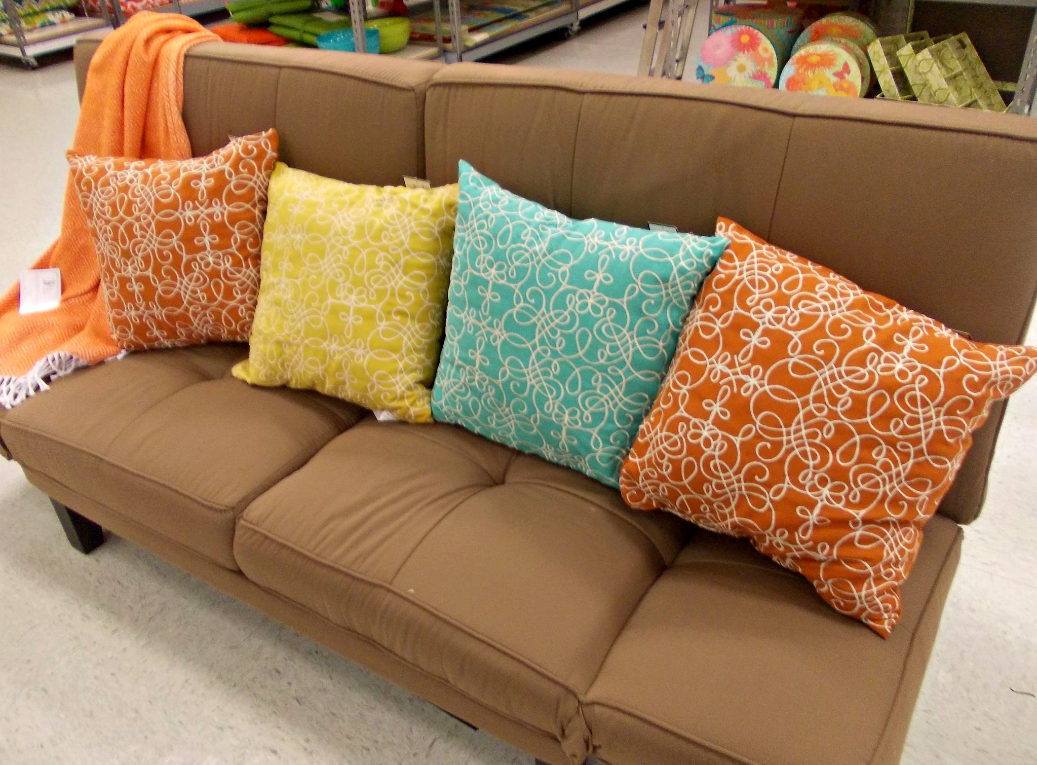Lovely More Outdoor Space Color! Tuesday Morning Carries A Huge Selection Of Patio  Furnishing, Including Pillows.