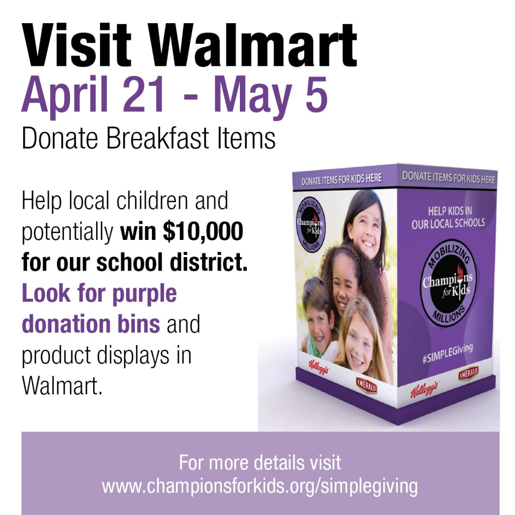 Walmart Simple Giving Program