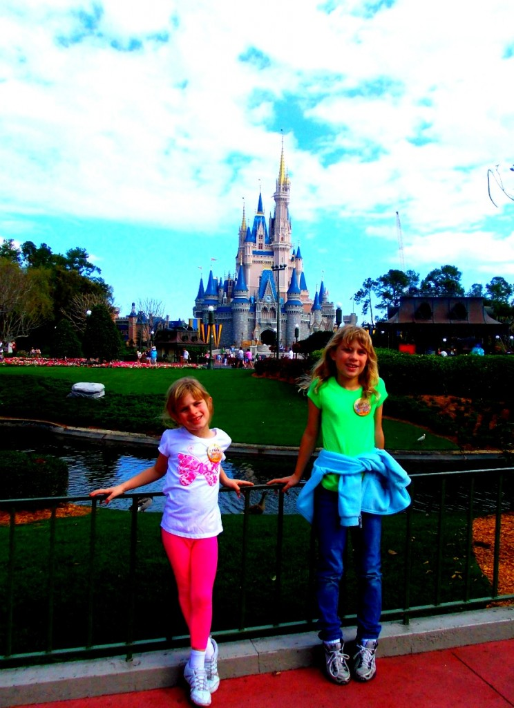 Cinderella's Castle Disney Family Vacation