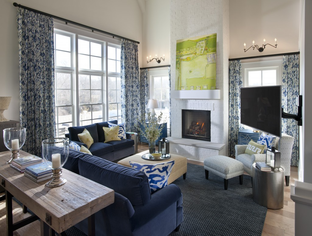 HGTV Smart Home Living Room