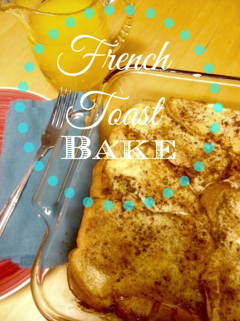 Simple Overnight Baked French Toast Recipe