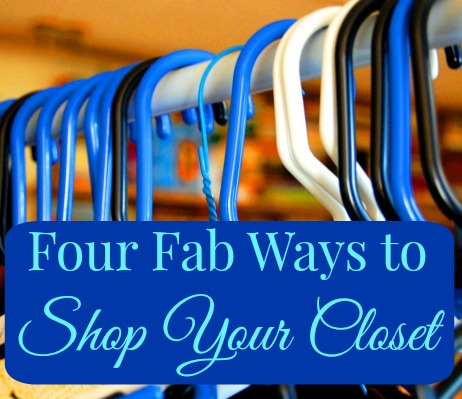 ways to shop your closet