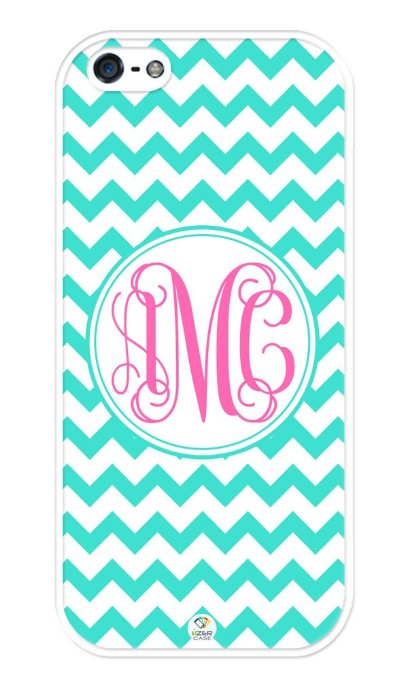 iPhone monogram case