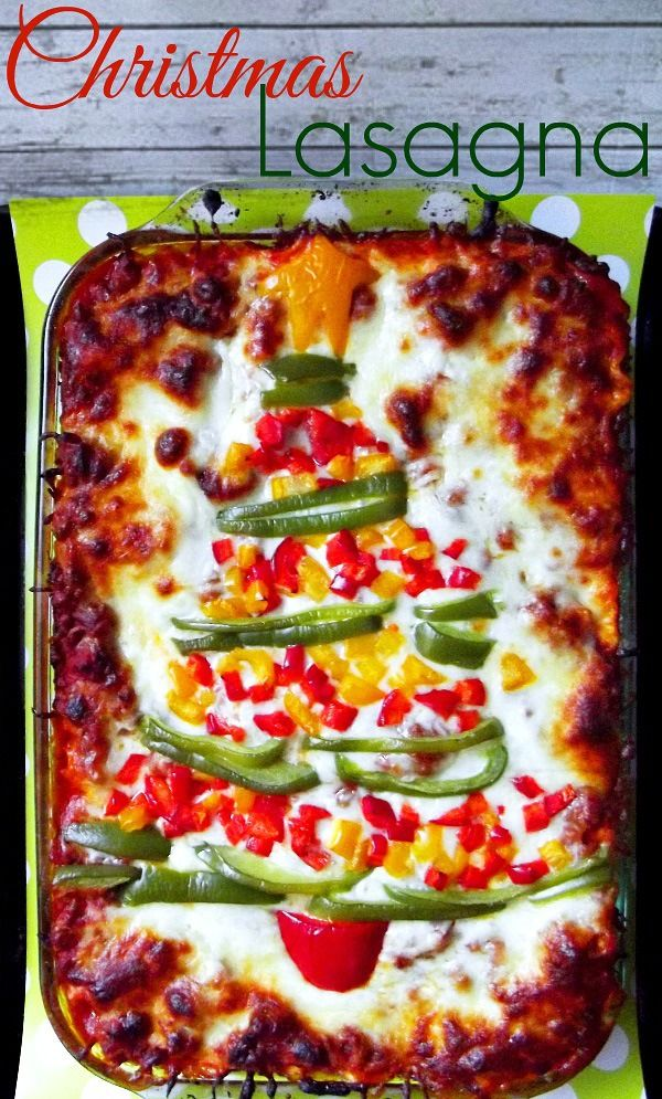 Christmas lasagna recipe
