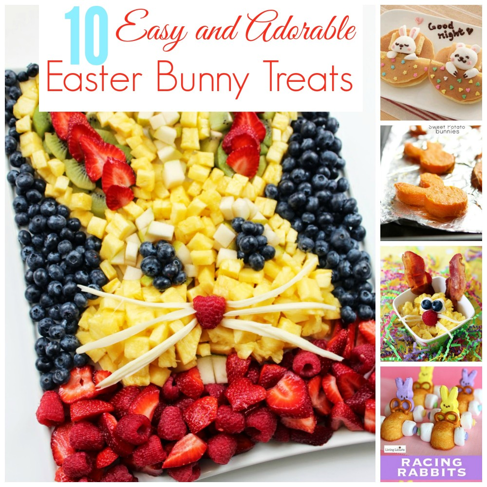 10 Easy Adorable Easter Bunny Snacks
