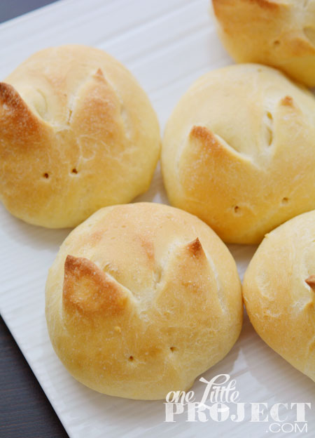 bunny buns Easter rolls