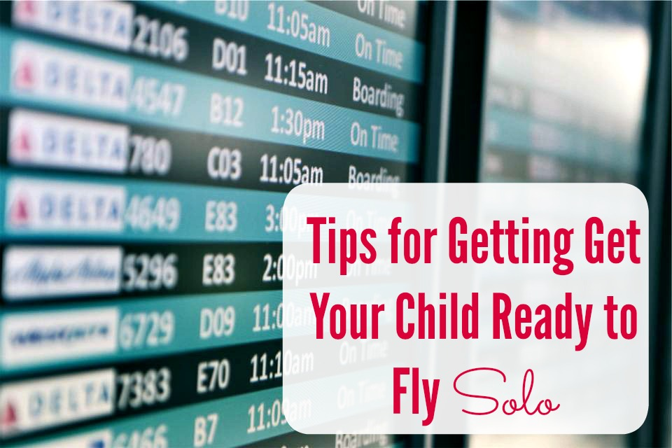 kids flying travel solo