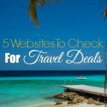 travel deals websites