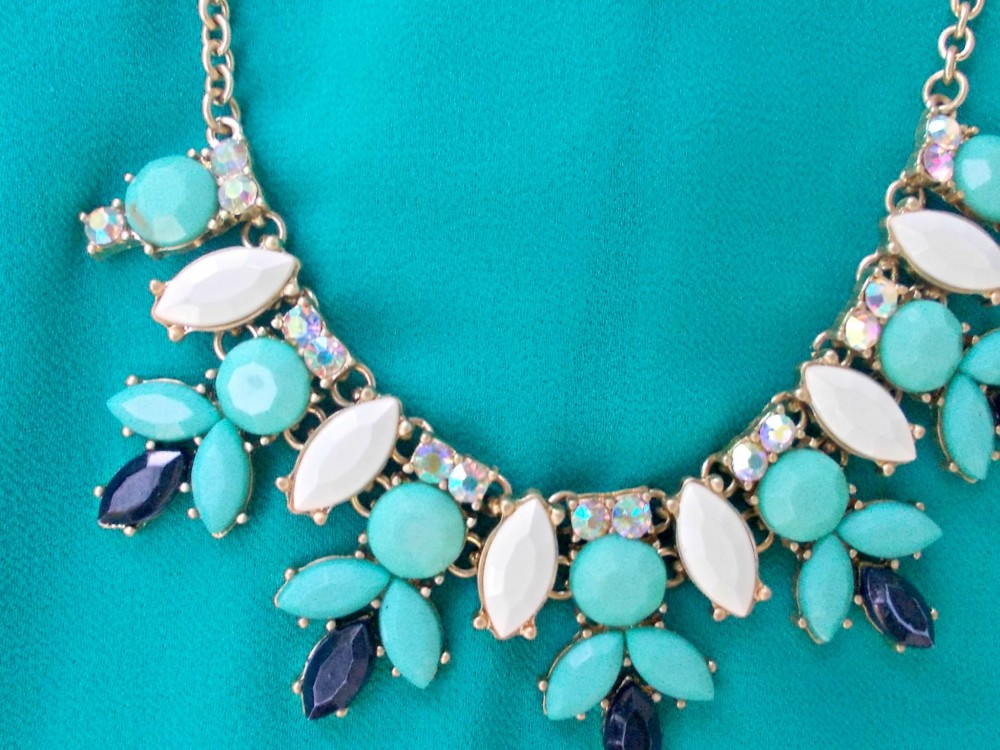 Summer statement necklace