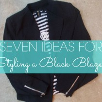 Ideas for Styling a Black Blazer