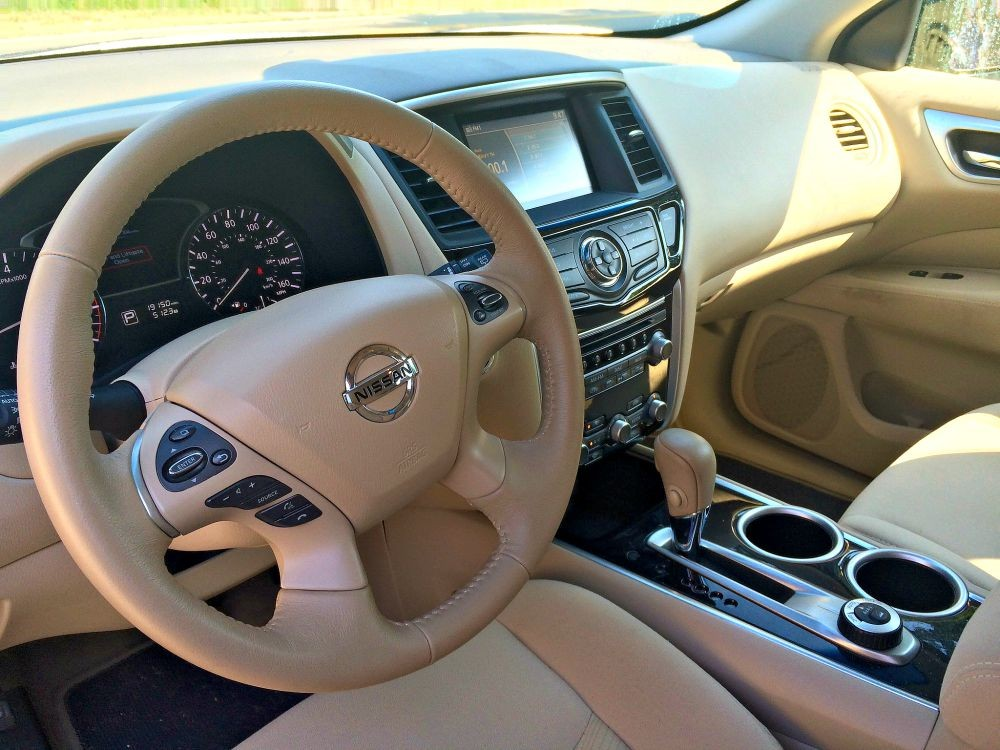 Pathfinder 2015 Interior