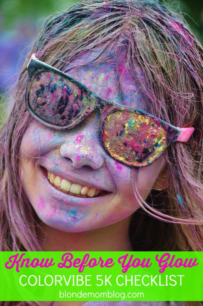 color vibe 5K checklist