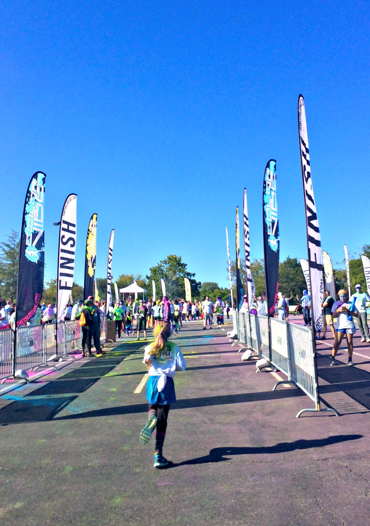 Finish Line ColorVibe 5K Run