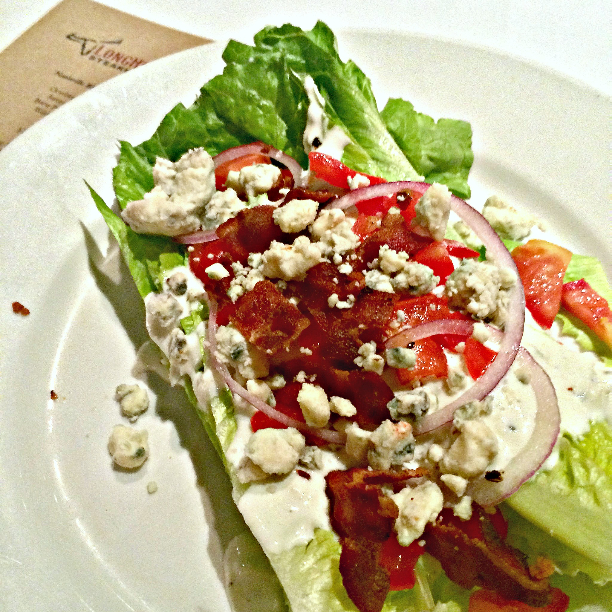 Blue Cheese Wedge Salad Longhorn