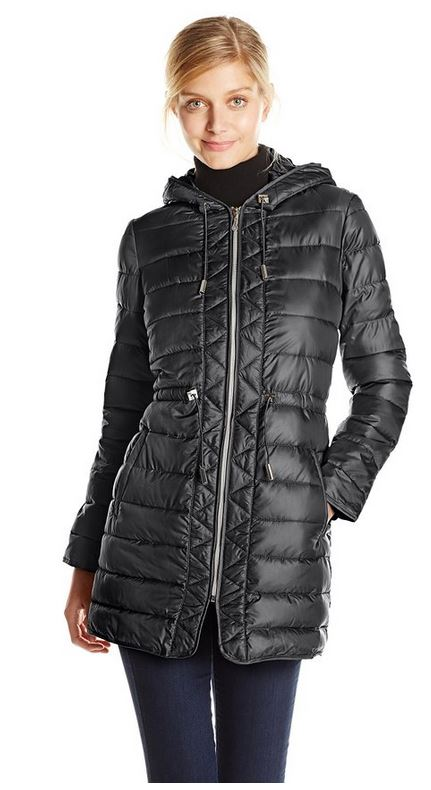 packable down coat