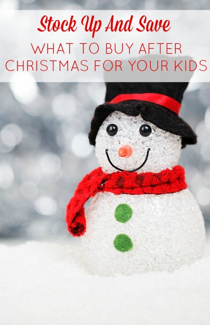 what to buy for kids after christmas sales