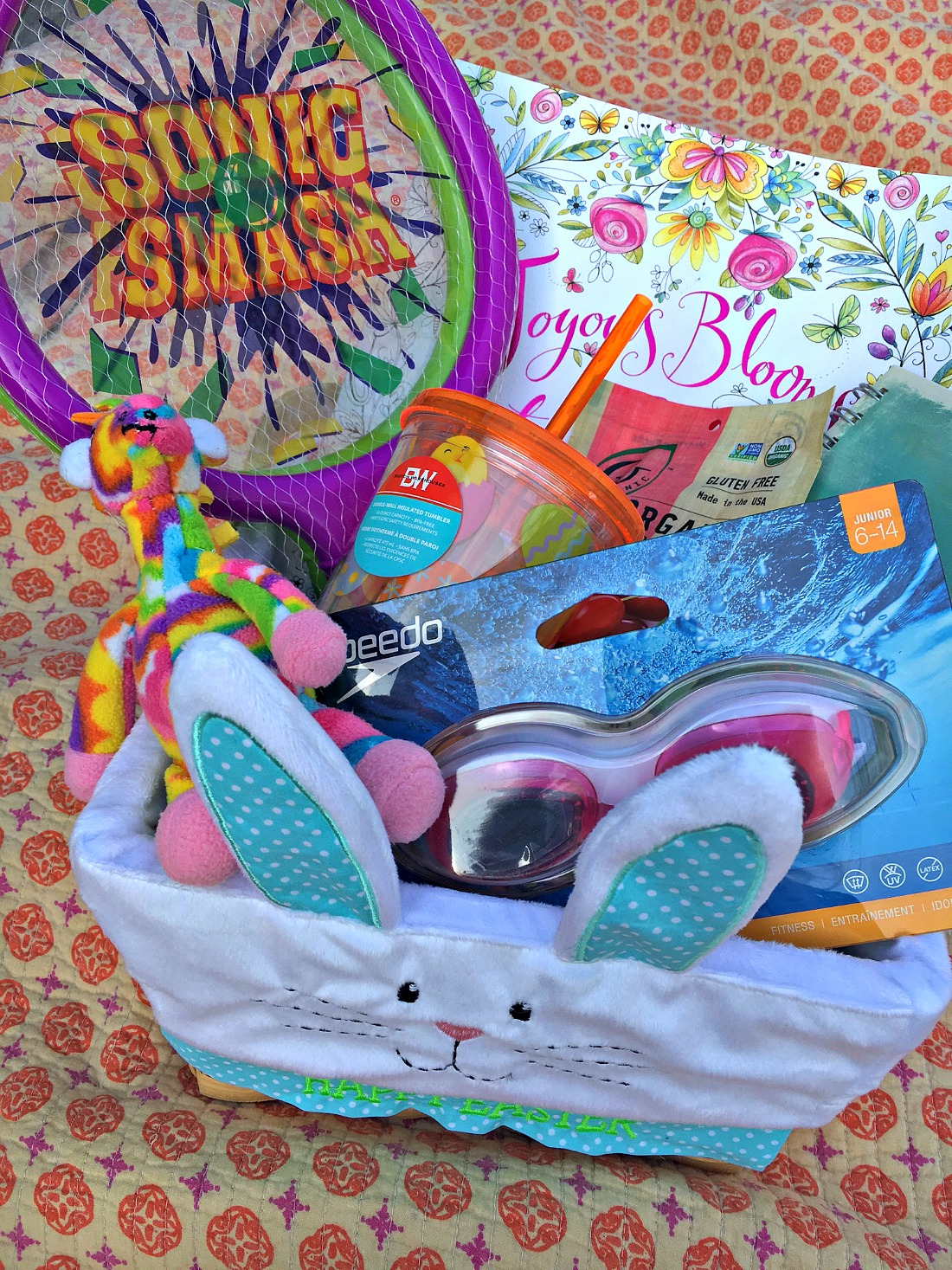50 creative healthy easter basket filler ideas blonde mom blog healthy easter basket negle Image collections