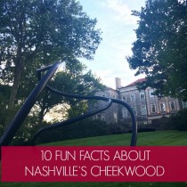 Visiting Cheekwood in Nashville