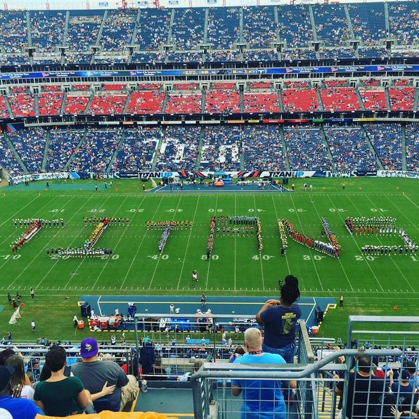 Tennessee Titans halftime