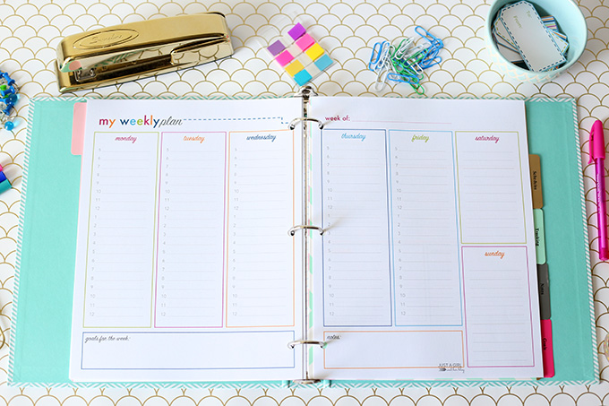 student-weekly-planner