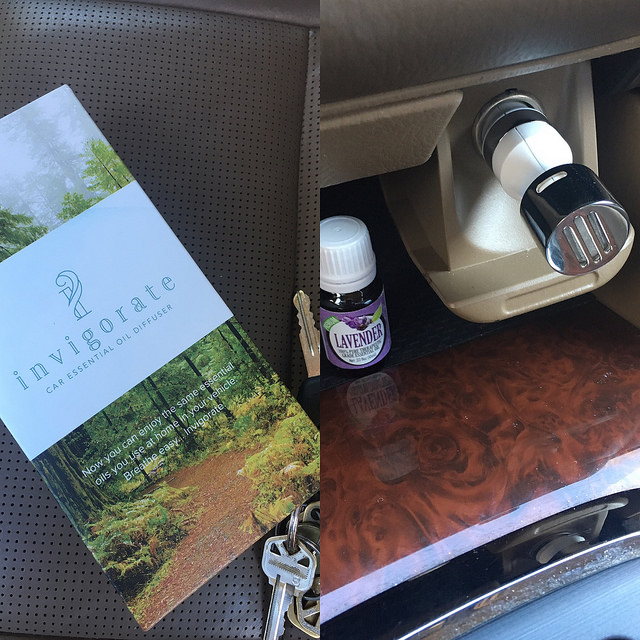 essential oil diffuser for cars