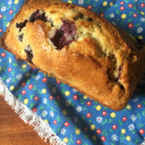 easy blueberry bread